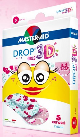 Plastry DROP 3D GIRLS 70463