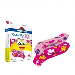 Plastry QUADRA 3D GIRLS 70465