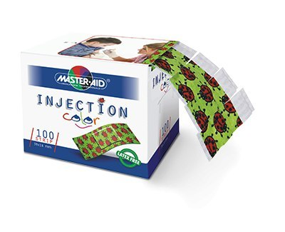 Injection plaster color 100 psc