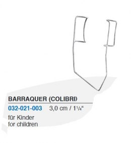 BARRAQUER stay for children 032-021-003