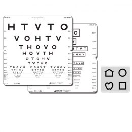 HOTV Folding Eye Chart (Massachusetts) 52214
