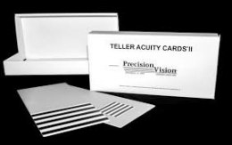 Teller Acuity Cards® II, 16 plates (full set)