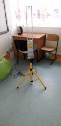 Lampa UV-C SALUS-statyw 36 do 8 m2