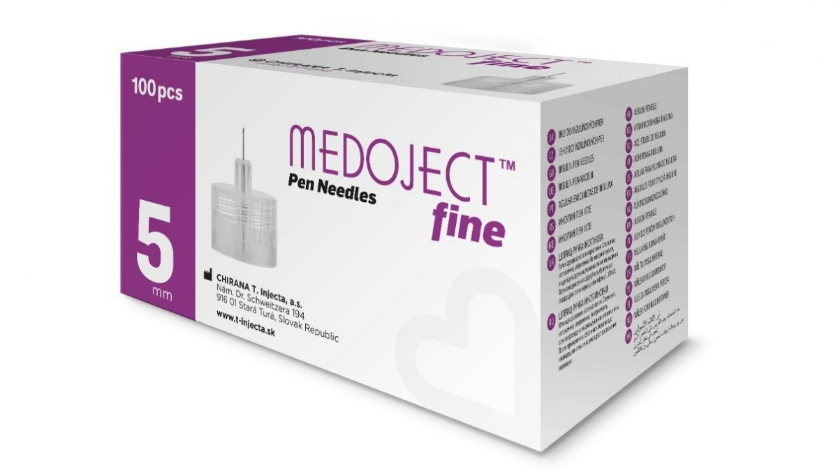MEDOJECT 31G igły do penów 5 x 0,25 mm